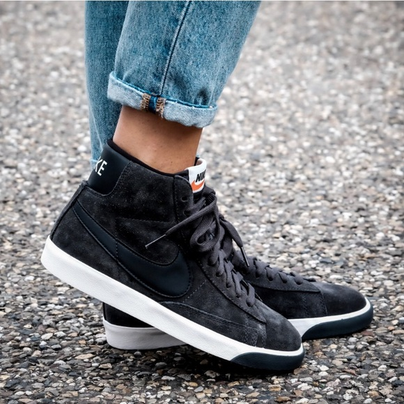Recuento Joven Adquisición  Nike Shoes | Nike Blazer Mid Vintage Suede Sneakers | Poshmark